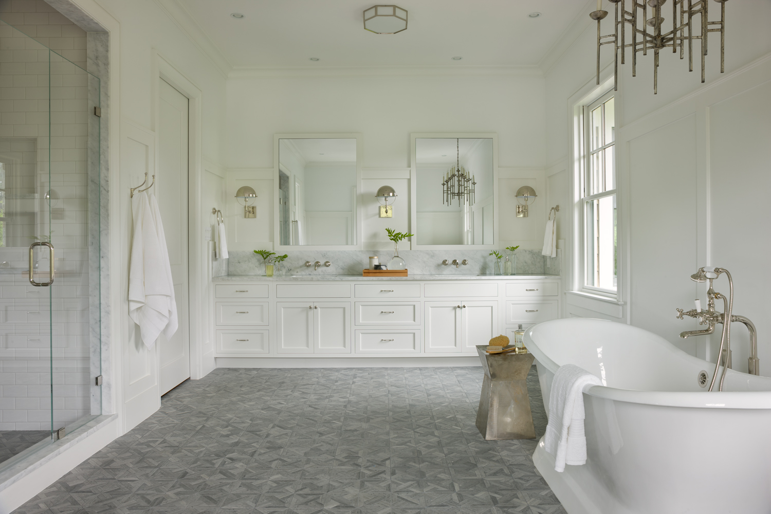 Amazing And finally here is the master bath