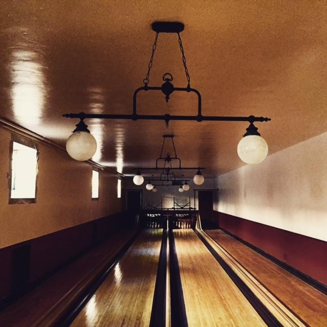 Greystone Mansion Bowling Alley