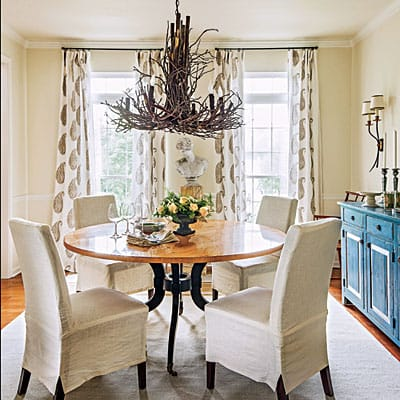 Before And After Dining Room In Southern Living