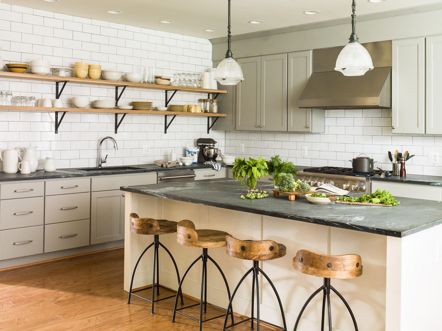 {Un Oiled Soapstone In Our Clientsu0027 Kitchen Featured In My Book... These  Are Some Of THE MOST Beautiful Counters Iu0027ve Ever Seen In Person... Theyu0027re  A ...